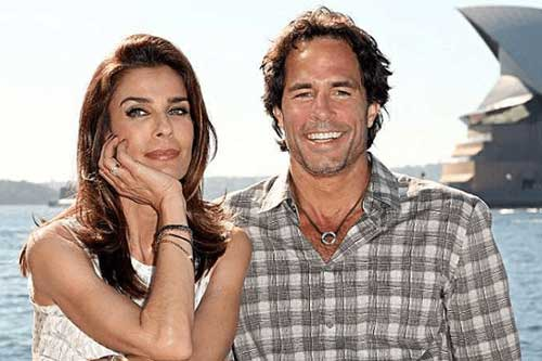 Danny Daggenhurst with his wife Kristian Alfonso