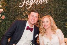 Carli Miles with Late husband MLB pitcher Tyler Skaggs