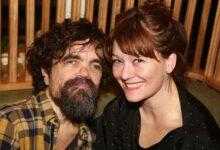 Erica Schmidt with husband Peter Dinklage